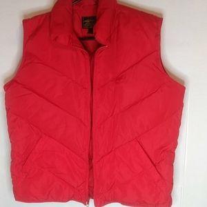 Eddie Bauer Goose Down Puffer Vest